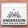 Brevlåda stickers - 1 dekoration klistermärke för brevlåda