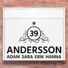 Brevlåda stickers - 3 dekoration klistermärke för brevlåda