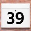 Brevlåda stickers - husnummer klistermärke för brevlåda